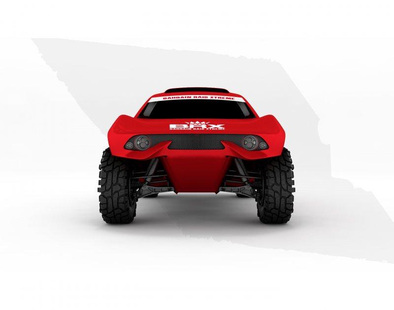 سيارة فريق البحرين رايد إكستريم