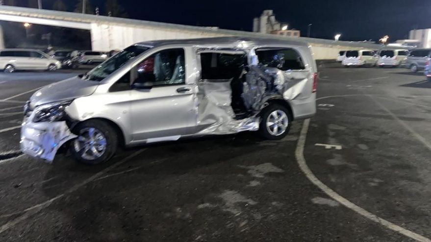 حادث مرسيدس